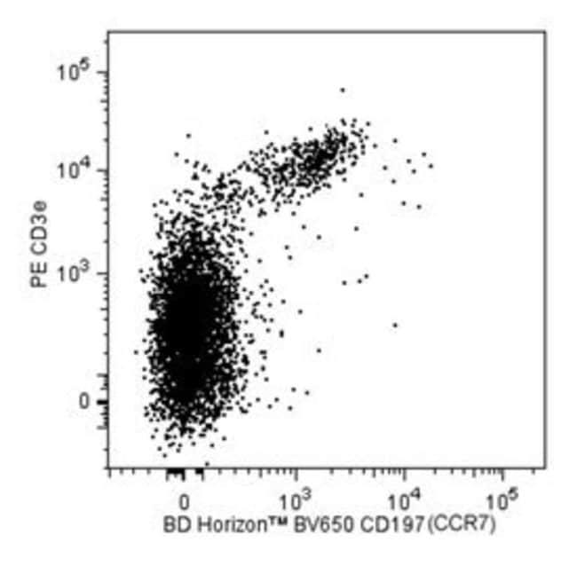 CD197 (CCR7) Rat anti-Mouse, Brilliant Violet 650, Clone: 4B12, BD 50µg;