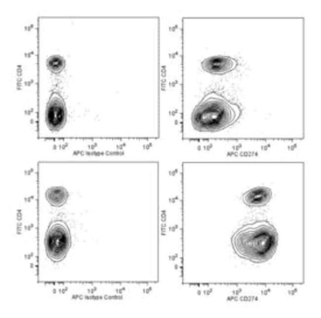CD274 Rat anti-Mouse, APC, Clone: MIH5, BD 50µg; APC:Life Sciences