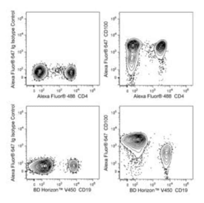 CD100 (Sema4D) Mouse anti-Human, Alexa Fluor 647, Clone: A8, BD 50 Tests;