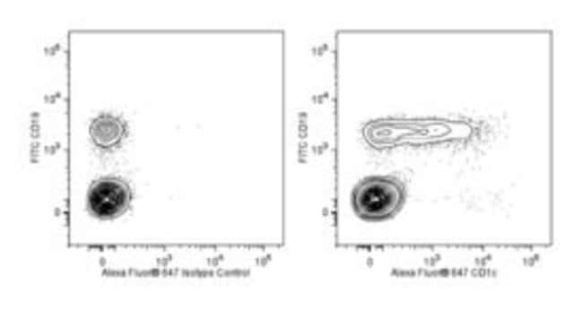 CD1c Mouse anti-Human, Alexa Fluor 647, Clone: F10/21A3, BD 25 Tests; Alexa