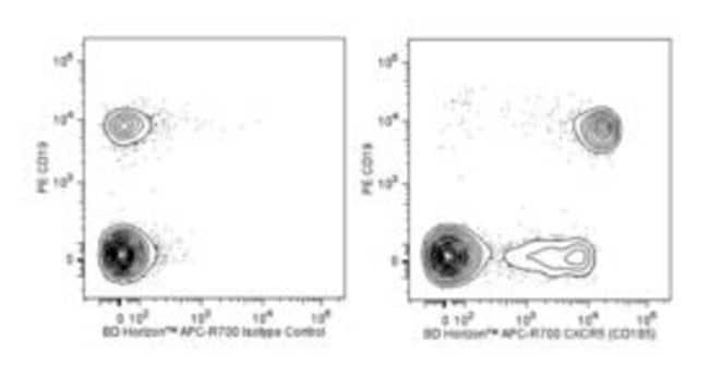 CXCR5 Rat anti-Human, APC-R700, Clone: RF8B2, BD 50 Tests; APC-R700:Life