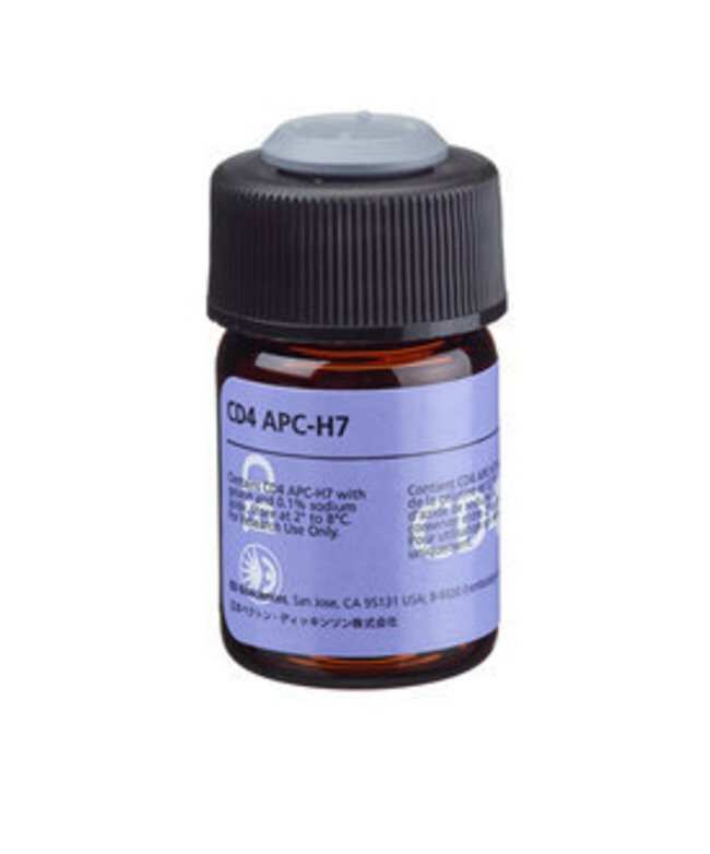 CD4 Mouse anti-Human, APC-H7, Clone: SK3, BD 100 Tests; APC-H7:Life Sciences