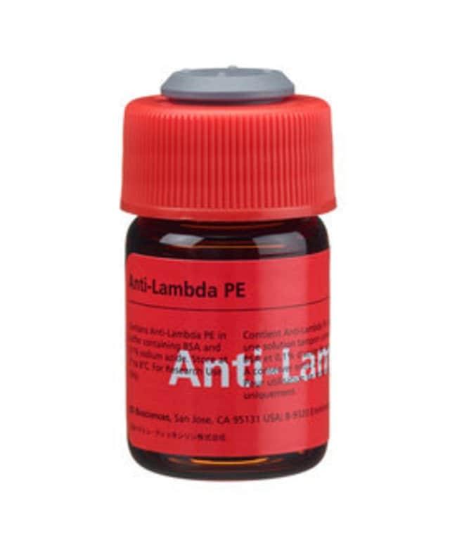 Lambda, Ig Light Chain Mouse anti-Human, PE, Clone: 1-155-2, BD 50 Tests;