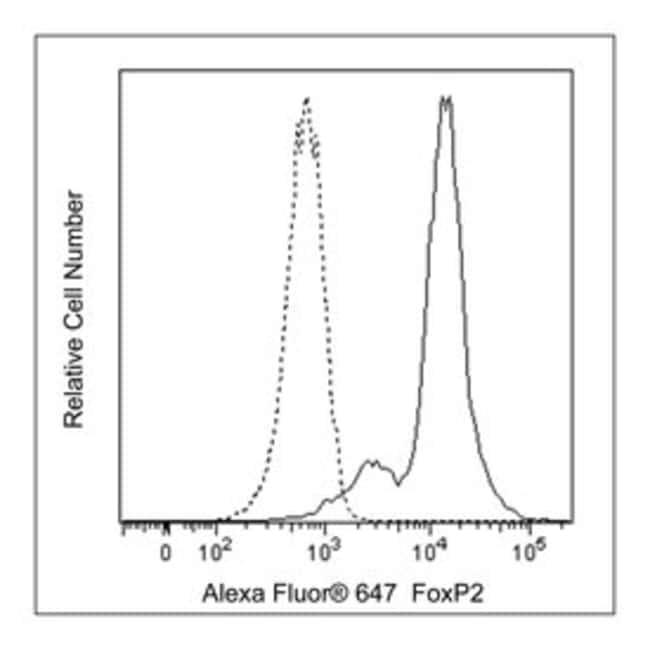 FoxP2 Mouse, Alexa Fluor 647, Clone: FOXP2-73A/8, BD 50µg; Alexa Fluor