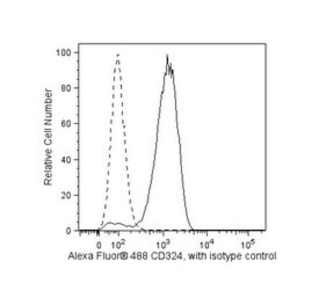 CD324 Mouse anti-Human, Alexa Fluor 488, Clone: 67A4, BD 50 Tests; Alexa