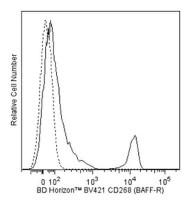 CD268 (BAFF Receptor) Mouse anti-Human, Brilliant Violet 421, Clone: 11C1,