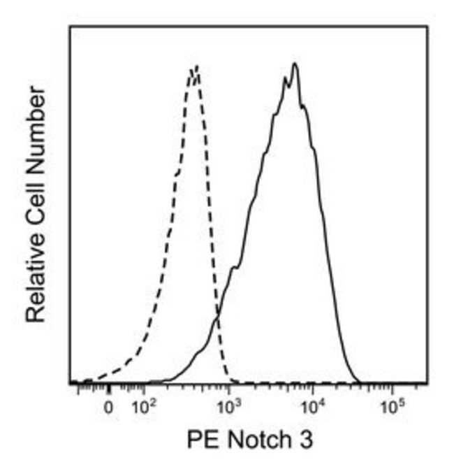 Notch3 Mouse anti-Human, PE, Clone: MHN3-21, BD 50 Tests; PE:Life Sciences