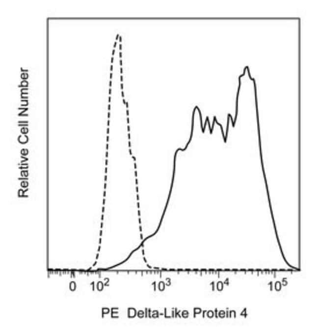 Delta-Like Protein 4 Rat anti-Mouse, PE, Clone: 9A1.5, BD 50µg; PE:Life