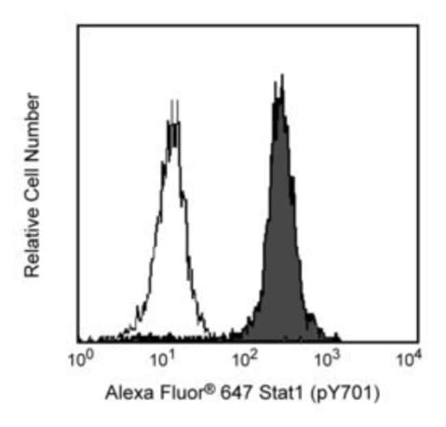 Stat1 (pY701) Mouse, Alexa Fluor 647, Clone: 4A, BD 50 Tests; Alexa Fluor