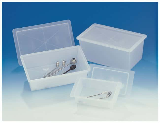 Bel-Art™Polypropylene Sterilizing Trays with Cover Inside dimension: 11 x 6 x 5 in. (27.9 x 15.2 x 12.7cm) products