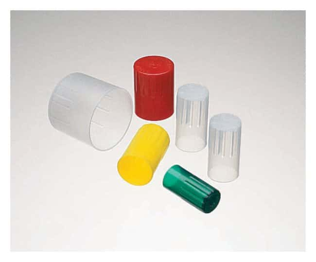 DWK Life Sciences Kimble™ Kim-Kap™ Disposable Closures For O.D.: 16mm; Color: Red Products