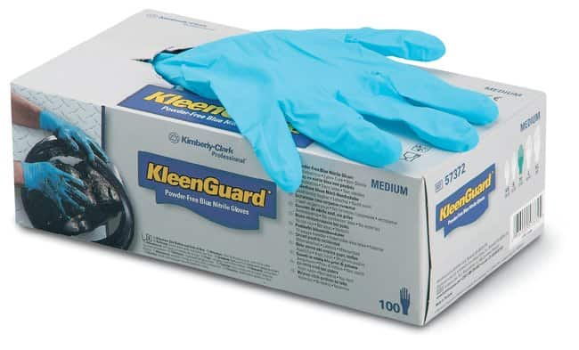 Kimberly-Clark Professional™ KleenGuard™ G10 Powder-Free Blue Nitrile Gloves Large Products