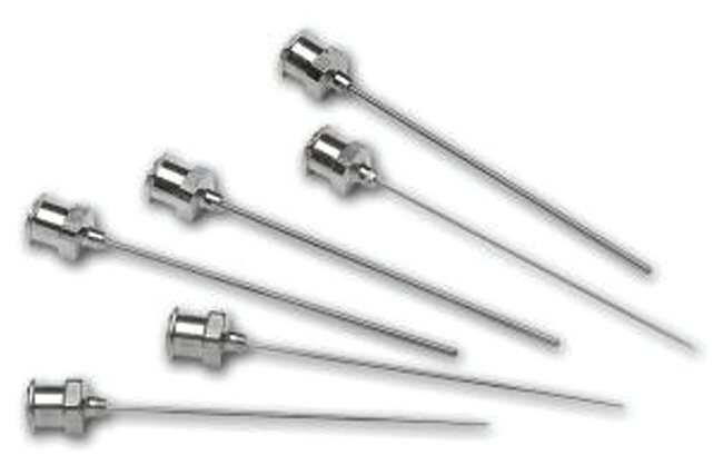 Hamilton™ Metal Hub Sharp Non-Coring Needles (Luer Lock)