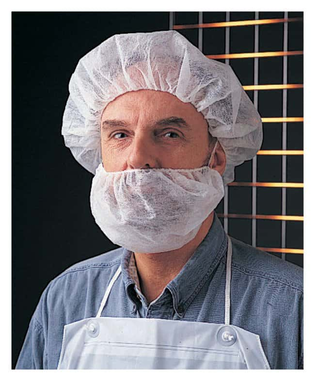 Fisherbrand Polypropylene Beard Cover:Testing and Filtration:Food and Beverage