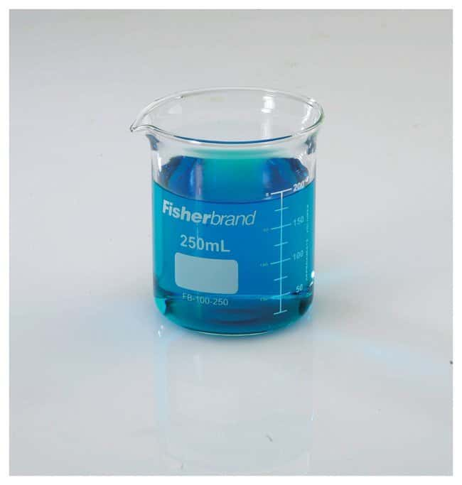 Fisherbrand  Reusable Glass Heavy-Duty Low-Form Beakers