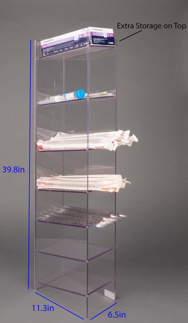 Poltex Floor-Standing Serological Pipette Holder Floor-Standing Serological