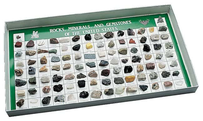 American Educational Products Rocks and Minerals of the U.S. Collections
