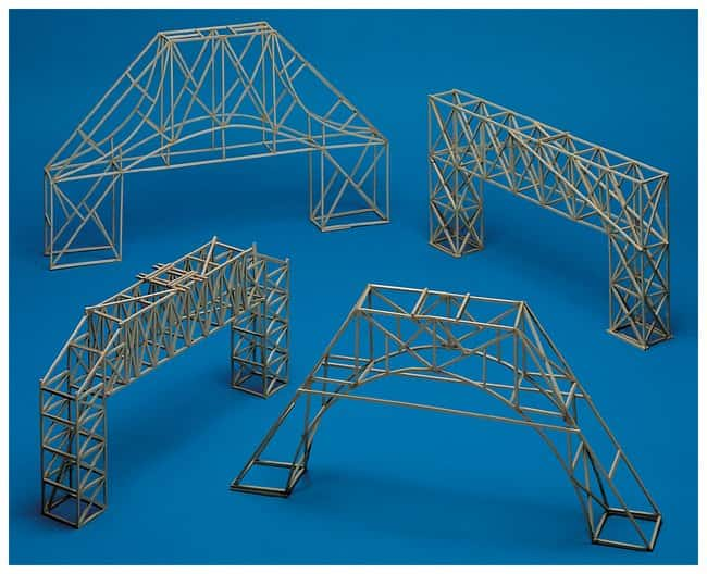 Bridge Building Class Pack :Teaching Supplies:Physics Classroom