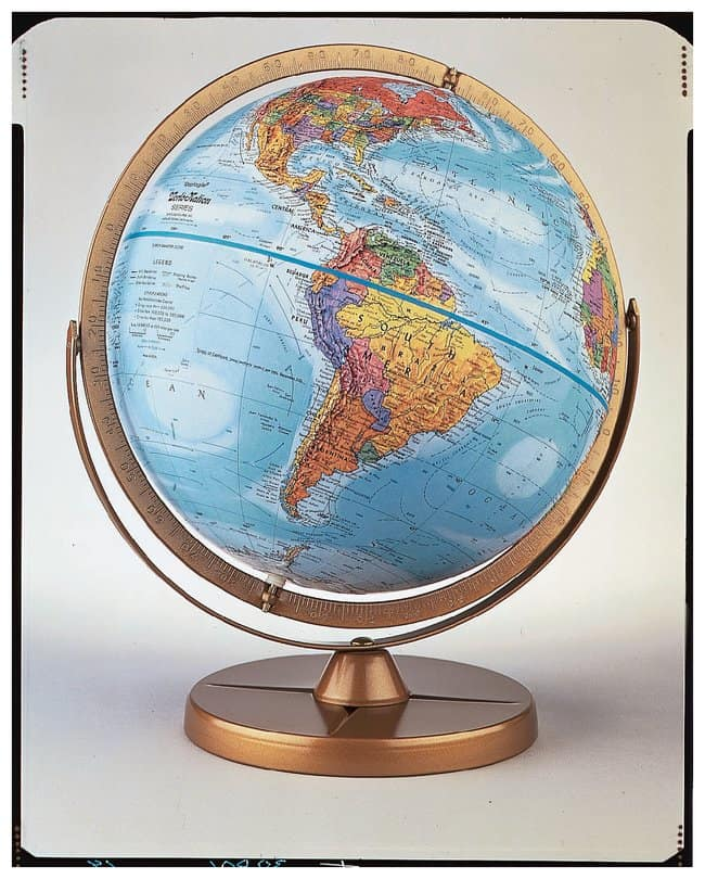 Replogle Globes Atlantis Globe  Physics Relief Globe:Teaching Supplies
