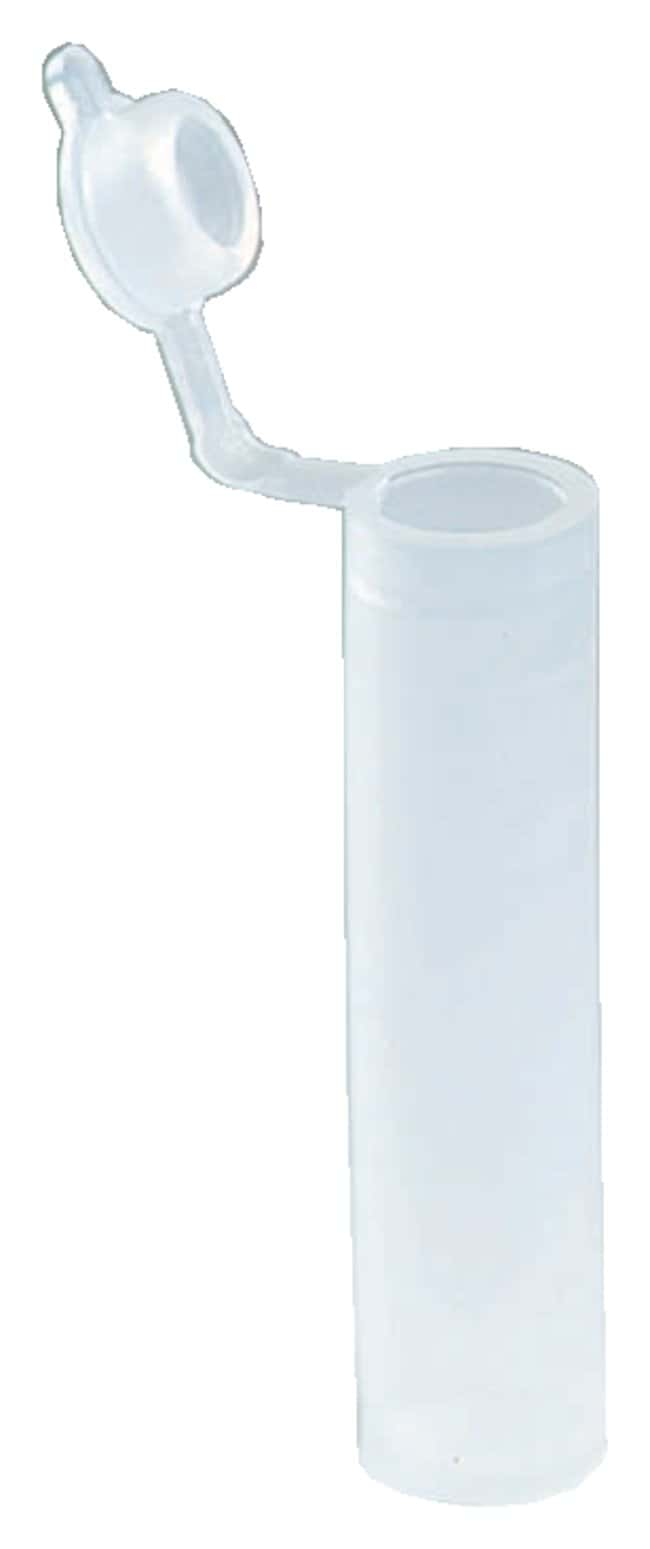 Dynalon Sample Vials with Hinged Cap :Teaching Supplies:Classroom Glassware
