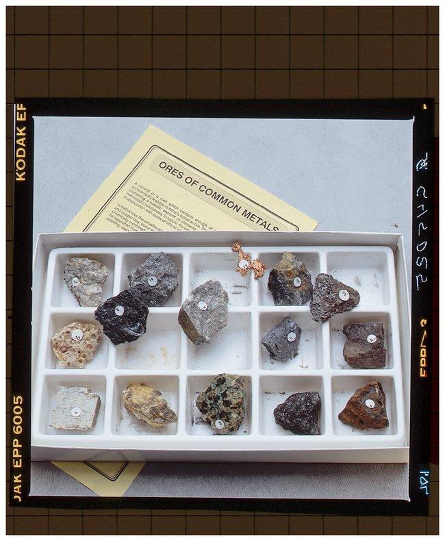 Ores of Common Metals  Ores Of Common Metals 15/pk:Teaching Supplies