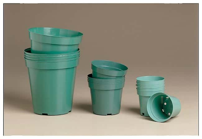 American Educational Products Green Plastic Plant Pots :Teaching Supplies:Biology