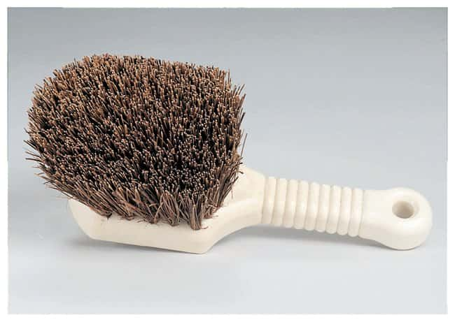 Palmyra Brush with Handle  Bristle portion: 4.75L x 5.75 in.W (121 x 146mm);