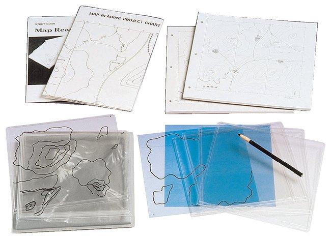 American Educational ProductsMap Reading Kit