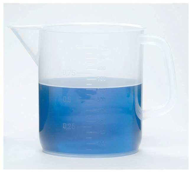 Dynalon™ Plastic Beaker with Handle