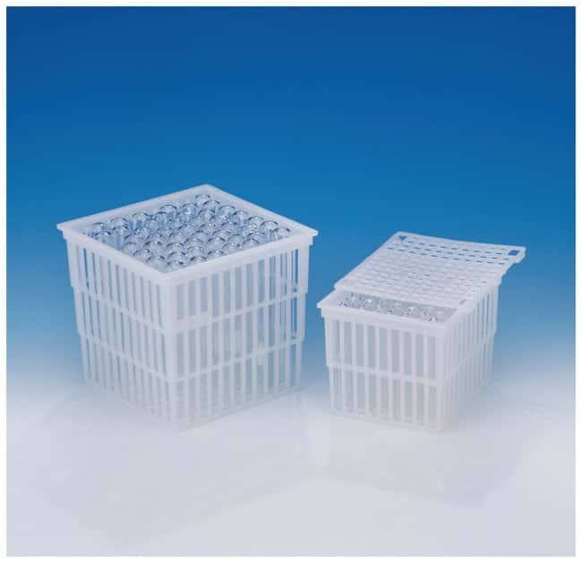 Bel-Art SP Scienceware Test Tube Baskets with Lids :Teaching Supplies:Classroom