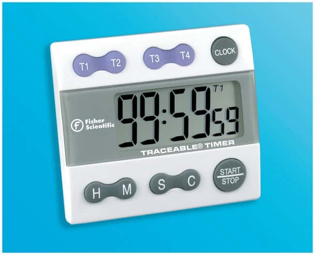 Fisherbrand™ Traceable™ Big-Digit Timer/Stopwatch