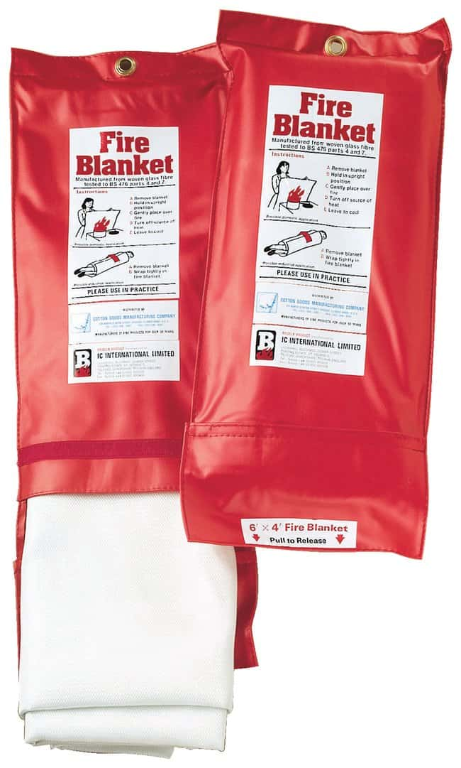Fiberglass Fire Blanket in Packet