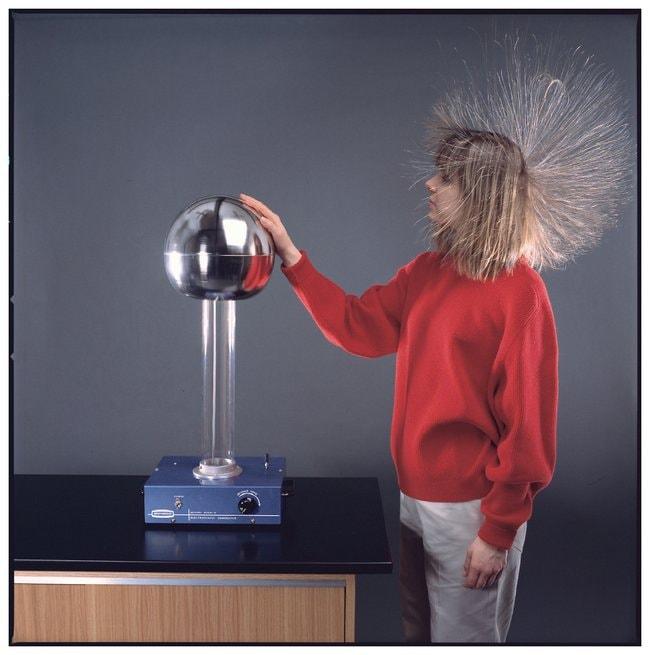 Deluxe Van de Graaff Generator :Teaching Supplies:Physics Classroom