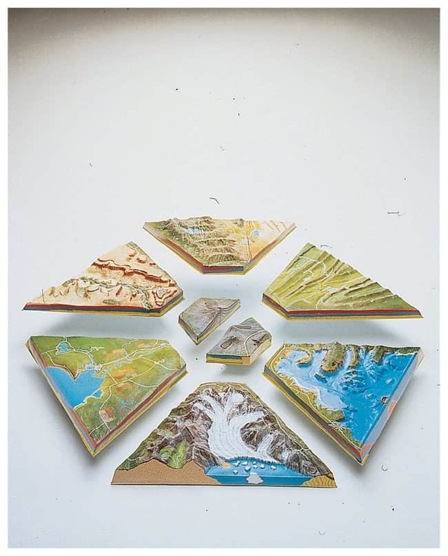 American Educational Products Landforms Model :Teaching Supplies:Earth