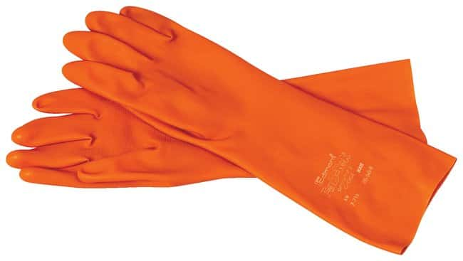 Ansell™ Heavy-Duty Rubber Gloves