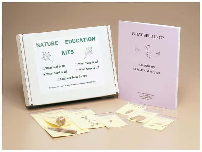 What Seed Is It?  Seed Identification kit:Teaching Supplies