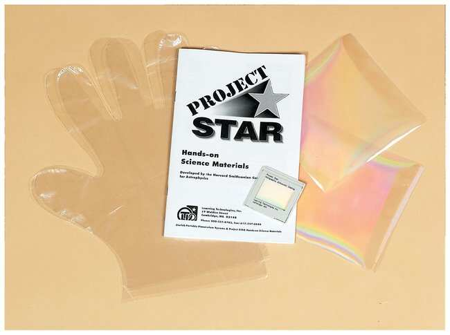 Science First Project Star Diffraction Grating :Teaching Supplies:Physics