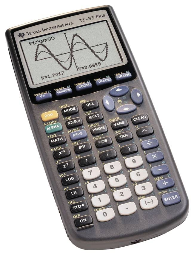 Texas InstrumentsTM TI 83 Plus Graphing Calculator