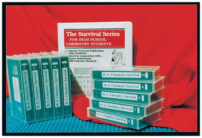The High School Chemistry Student Survival Series, VHS Video :Teaching