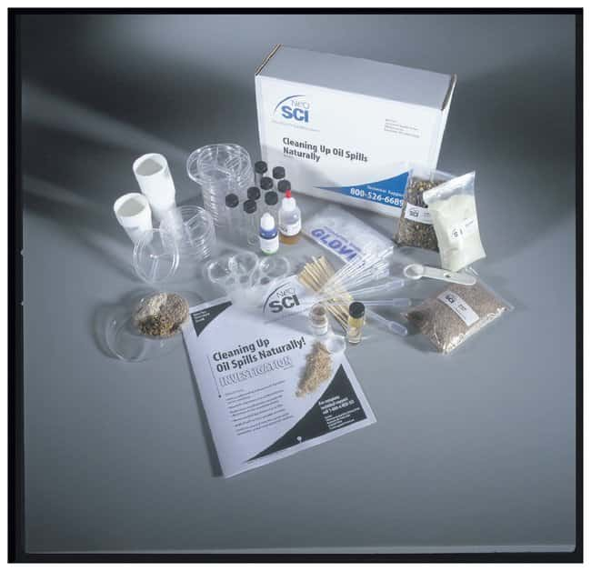 Cleaning Up Oil Spills Naturally :Teaching Supplies:Biology Classroom