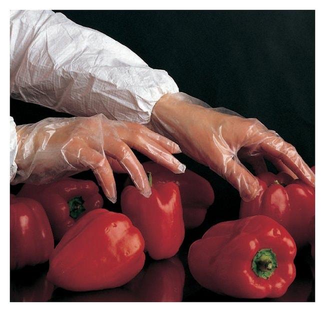 Fisherbrand Polyethylene Long-Cuff Gloves Medium-weight; Size: Medium:Gloves,