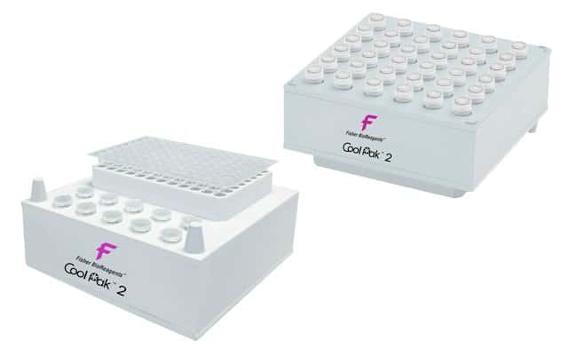 Fisherbrand™CoolCube Microtube and PCR Tube Cooler Dimensions (L x W x H): 14.3 x 14.3 x 6.4 cm (5.6 x 5.6 x 2.5 in.) Insulated Containers