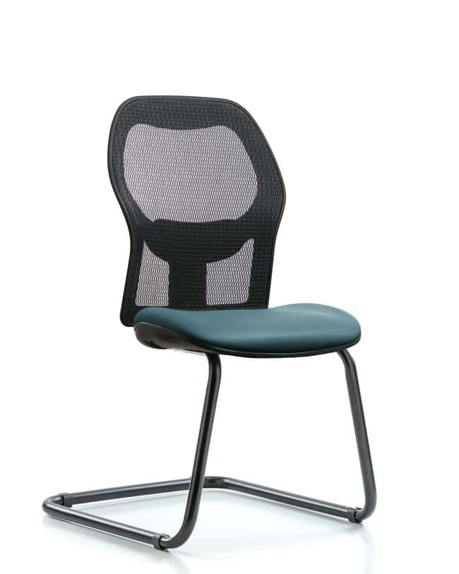 FisherbrandExecutive Windrowe Mesh Back Guest Chair with Grade A Seat:Furniture:Seating