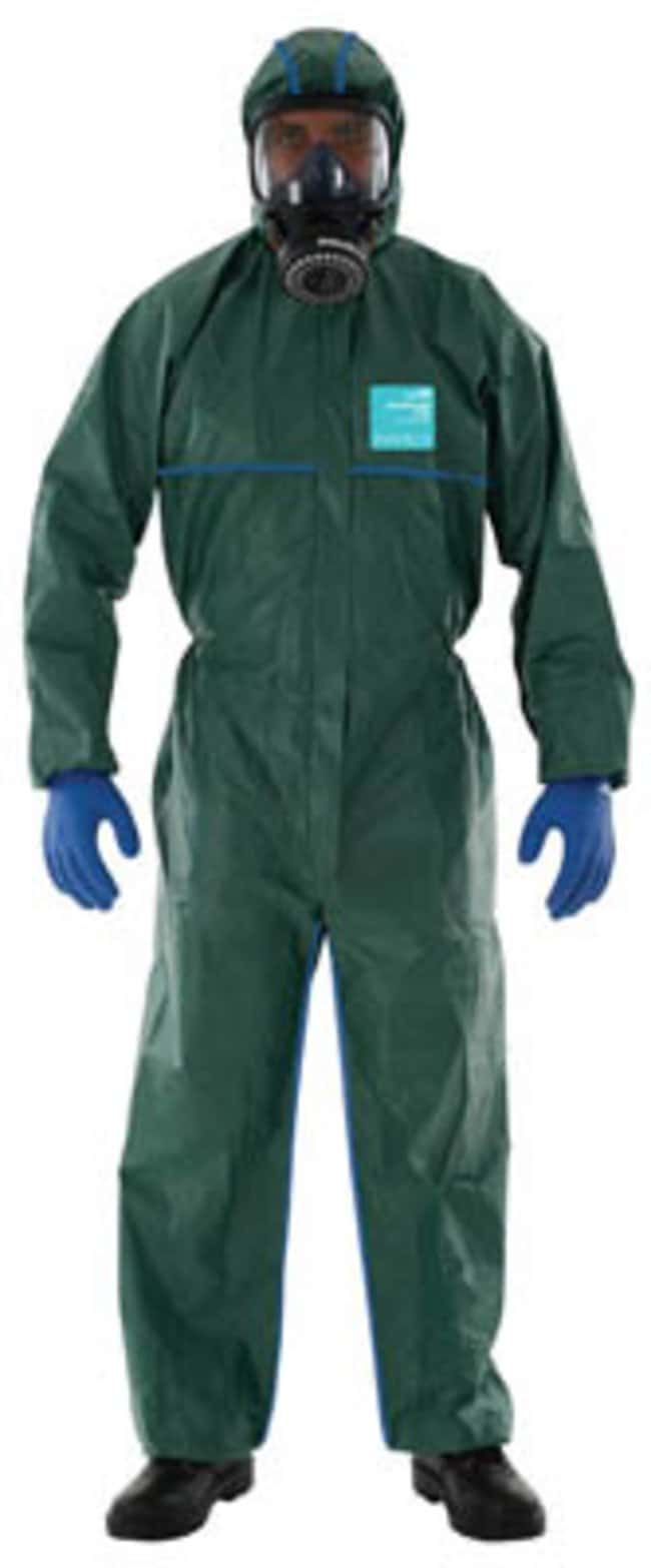 Ansell Edmont™ Microgard™ 2000 Standard Green Coveralls with Hood X-Large Products