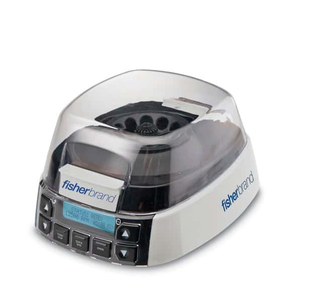 Fisherbrand High Speed Mini-Centrifuge, 100-240VAC, 50/60Hz Universal Plug,