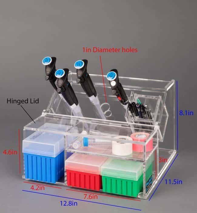 Poltex Deluxe Pipette Stand Deluxe Pipette Stand; Overall D x W x H: 28