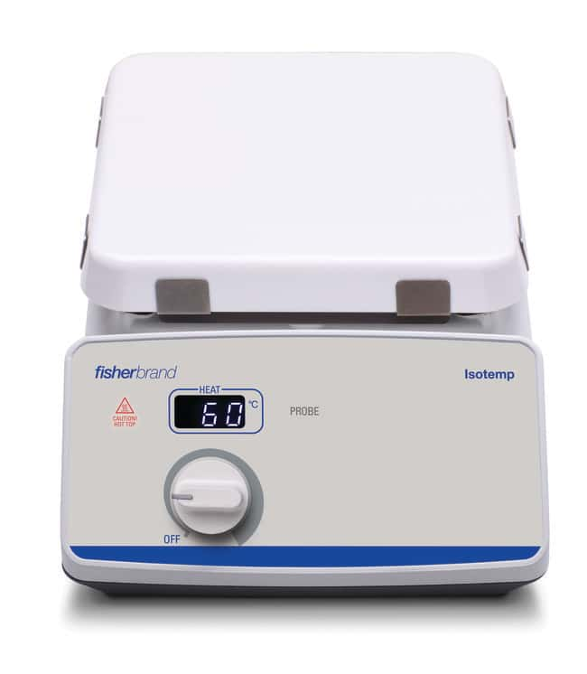 Fisherbrand Isotemp  Hot Plate, Ambient to 540C, Ceramic 4.25 x 4.25 in.,
