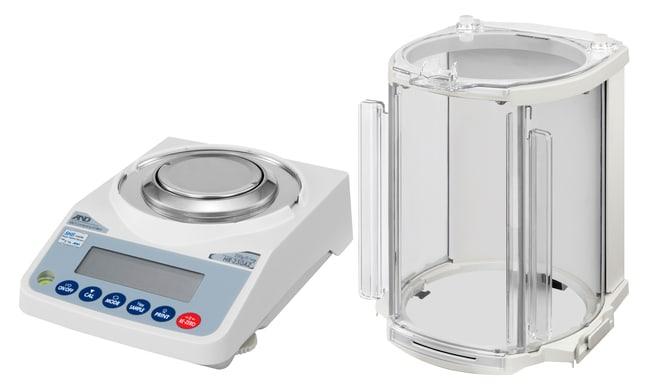 A&D WeighingBalance analytique à étalonnage interne Galaxy HR 62 g/ 252 g x 0,1 mg/ 1 mg A&D WeighingBalance analytique à étalonnage interne Galaxy HR