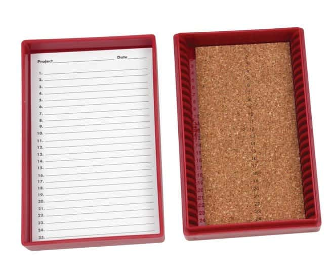 FisherbrandPremium Microscope Slide Box:Boxes:Slide Storage Boxes