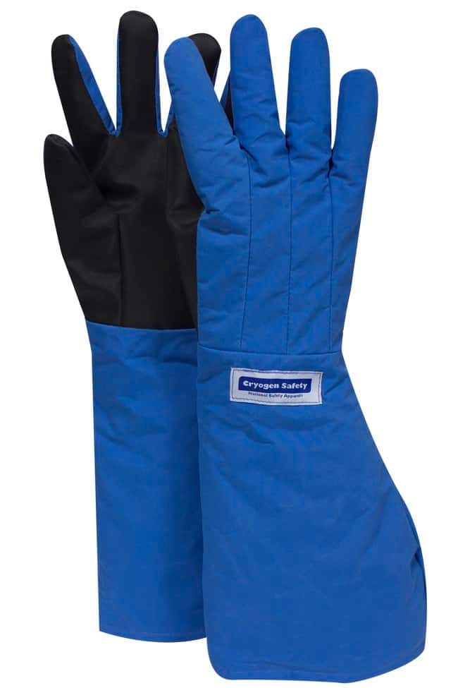 National Safety Apparel SaferGrip Elbow Length Cryogenic Gloves Size: Medium:Gloves,